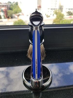 Art of Shaving Gillette Fusion Handle, Chrome Stand & Badger Brush for Sale in Washington, DC