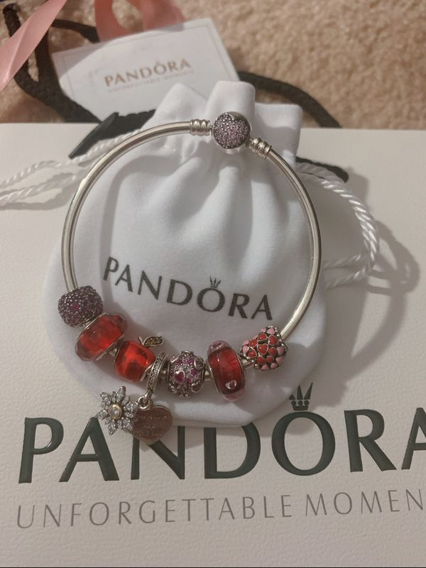Pandora Bracelet And Charms For Sale In Cumberland  Ri