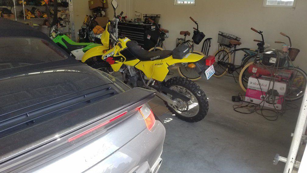 2001 Suzuki Z400 dual sport