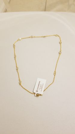 18K Gold Over Sterling Silver Necklace Thumbnail