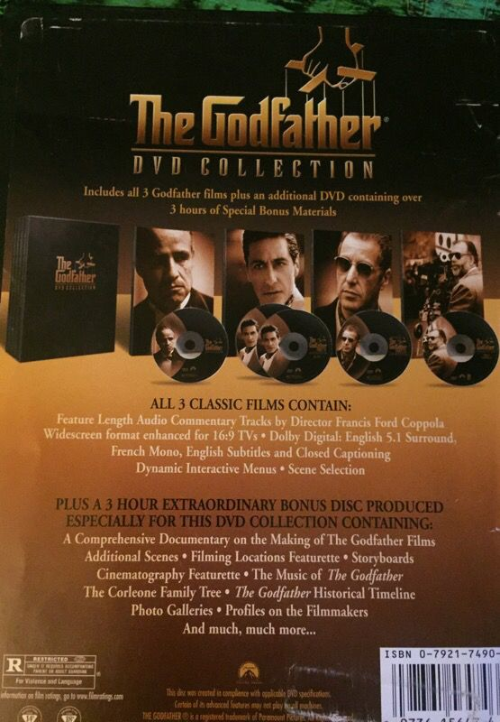 The godfather dvd collection set for sale in baldwin park ca offerup 10sold thecheapjerseys Images