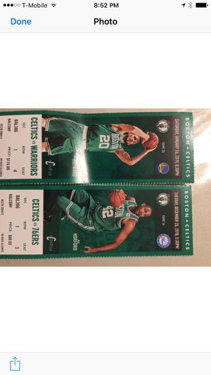 Celtics tickets for Sale in Easton, MA
