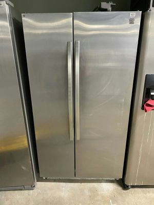 Photo Kenmore Fridge Side by Side Stainless Steel