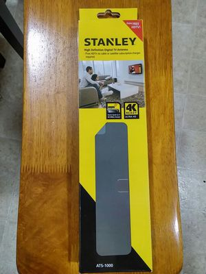 Nib Stanley Hdtv Digital Tv Antenna 4k Ready Ats 1000 For