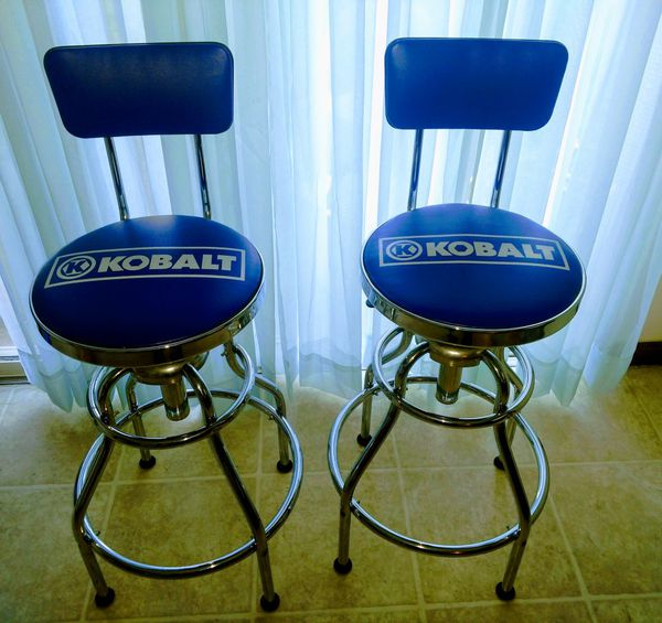 Kobalt Adjule Hydraulic Bar Stools