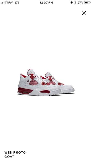 "Air Jordan 4 Retro ""Alternate 89"" size 14 Deadstock for Sale in Vanport, PA"