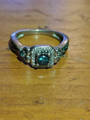 Blue Diamond ring for Sale in Gaithersburg, MD