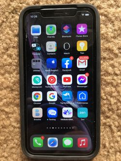 I-Phone XR 64 GB PICKUP IN PERSON ONLY Brand New No Box No Ear Buds Thumbnail