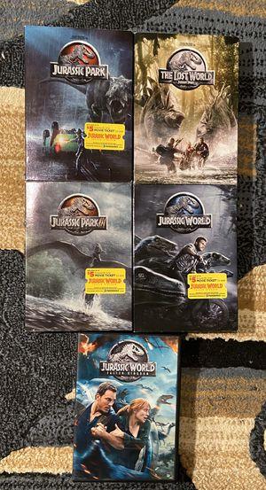 Photo Entire Jurassic Park Movie Series DVD