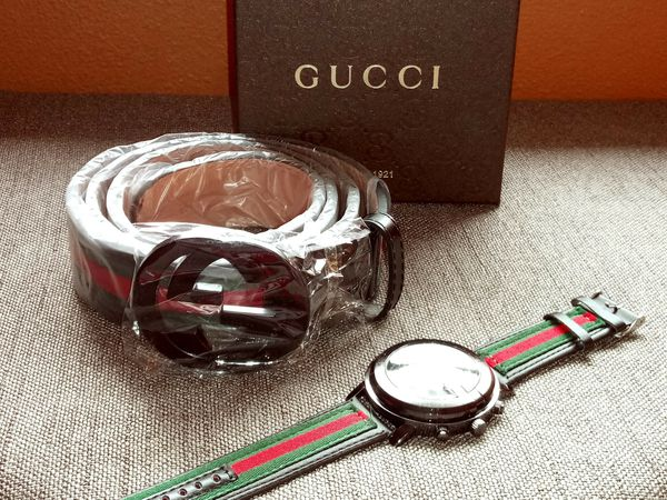 f41f6b65c Belt and Gucci watch set for Sale in Jacksonville, FL - OfferUp