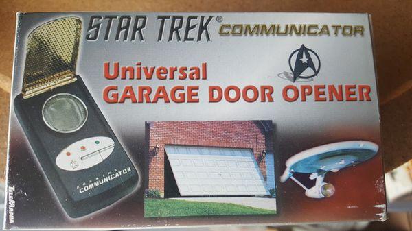 Star Trek Garage Door Opener for Sale in Fontana, CA - OfferUp