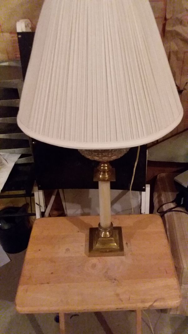 vintage brass marble lamp pre wwii for sale in dallas ga offerup