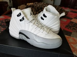 a99a41a19f9a ... new zealand air jordan retro 12 gs baron 2016 for sale in e1b5a 4ec15