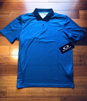 Oakley Polo Shirt - *Brand New* - Blue - Mens M for Sale in Leesburg, VA