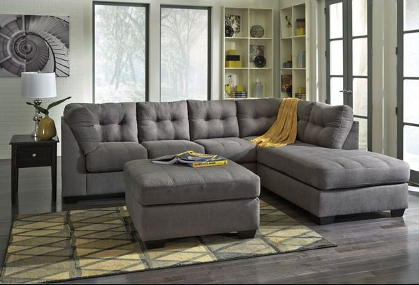 Brand New 2 Piece Sectional Charcoal Color For In Wilmington Nc Offerup