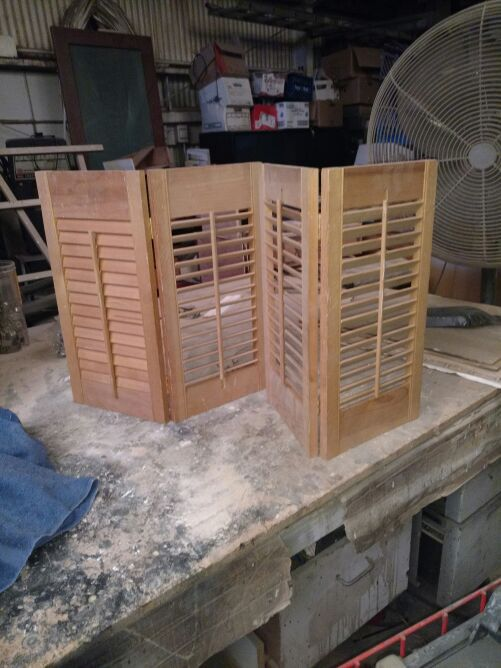 Shutters all sizes