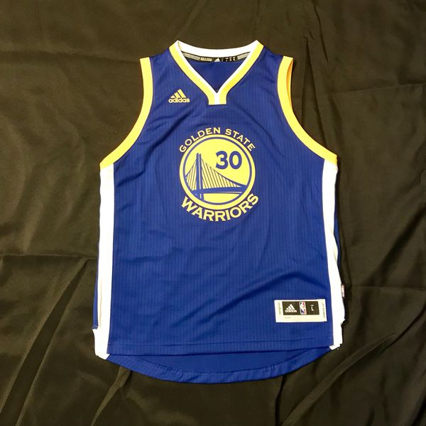 best service 88997 44dd8 Stephen Curry Swingman Jersey: Youth Large Adidas Golden State Warriors for  Sale in Dublin, CA - OfferUp