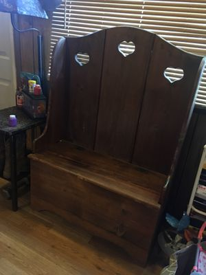 BENCH W/ storage for Sale in Cumberland, VA