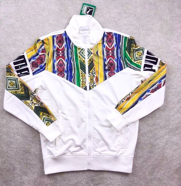 newest 39f60 d93fb PUMA x Coogi Australia Full Zip Track Jacket for Sale in Bronx, NY - OfferUp