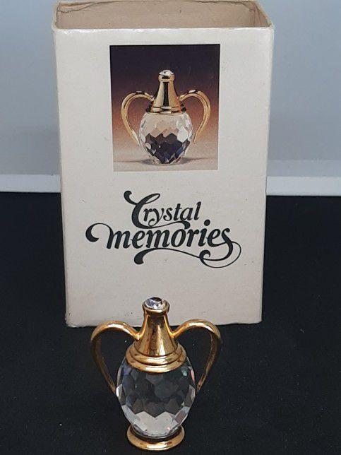 SWAROVSKI CRYSTAL MEMORIES   AMPHORA GREEK VASE *NEW* RARE RETIRED 9460NR000006