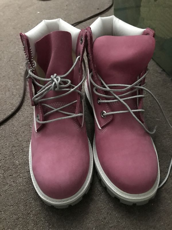 b9dc9723db BRAND NEW! Pink Timberland Boots for Sale in Hastings-on-Hudson, NY ...