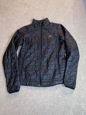 Photo Patagonia nano puff women L black jacket