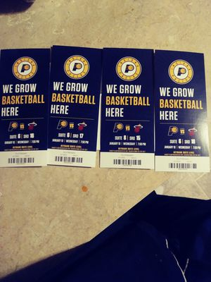 4 mayor suite ticket seats to tonight's game for Sale in TN, US