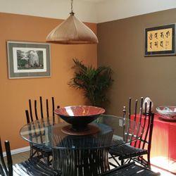 Black Bamboo /Glass Dining Set Thumbnail