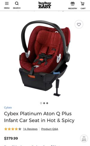 Cybex Aaron Q Plus for Sale in Manassas, VA
