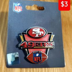 San Francisco 49ers Lapel Pin Thumbnail