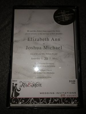 Brand new wedding invitations! for Sale in Albany, OR