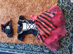 Pirate girl Halloween costume size large 10-12 for Sale in San Francisco, CA