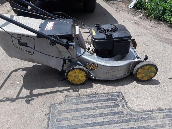 John Deere 21in Zone Start 5 0 Hp Self Propelled Lawn
