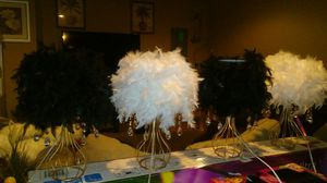 Fur an crystal lamps for Sale in Baltimore, MD