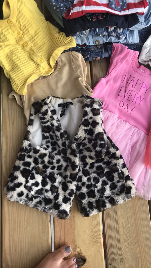 Bundle Little Girls Size 18 24 Months 16 Piece Pre Owned Baby