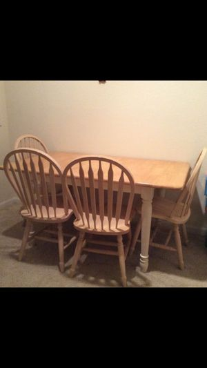 Dining table chairs for Sale in Chantilly, VA