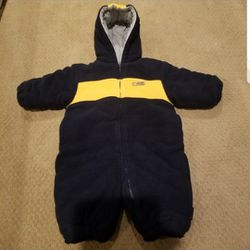 Polo 12 Month Fleece Cold/Snow Bunting Outfit Thumbnail