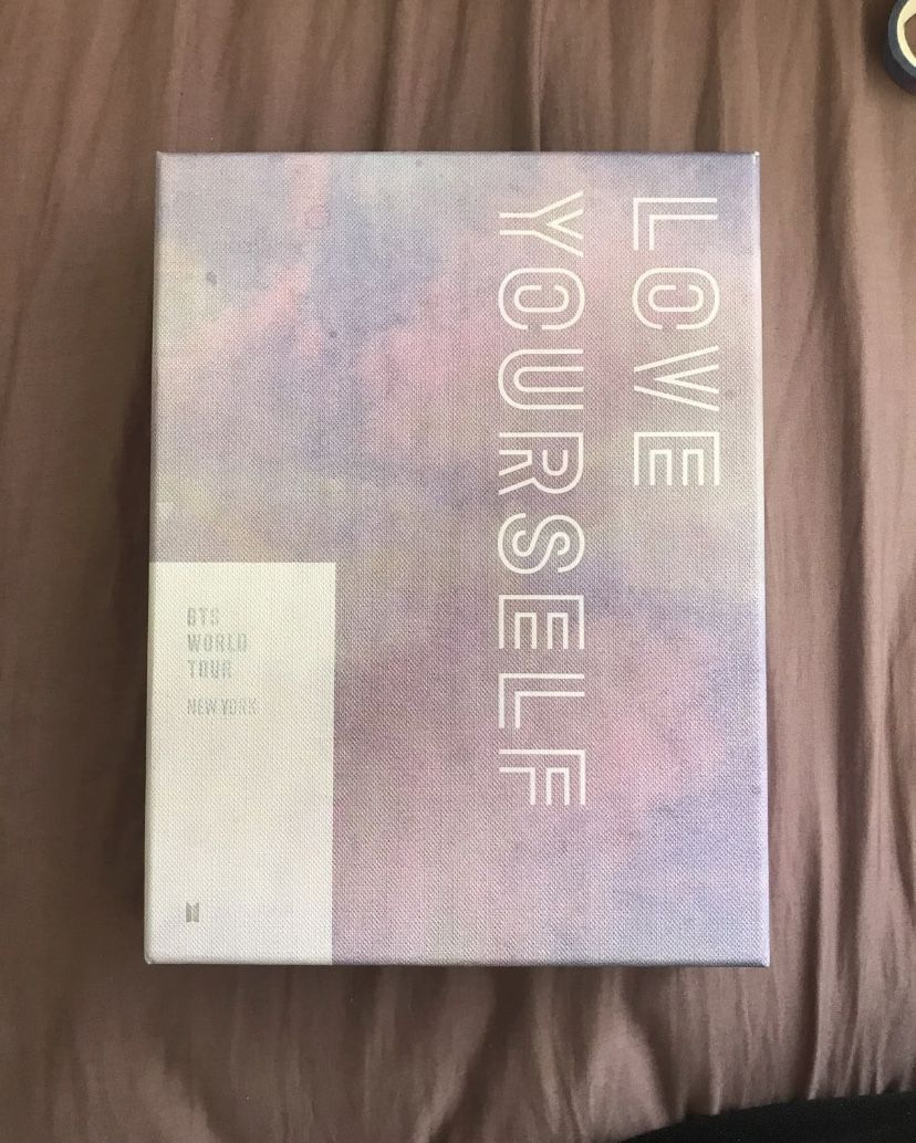 BTS NEW YORK DVD! COMES WITH HOBI PC