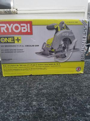 Photo RYOBI 18V 7 1/4 CIRCULAR SAW - MODEL #P508