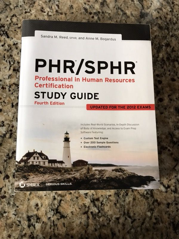 New Phr Sphr Exam Book For Sale In Upper Marlboro Md Offerup