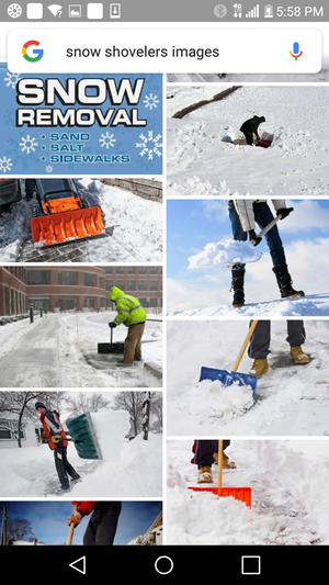 Snow shovels for hire for Sale in Detroit, MI
