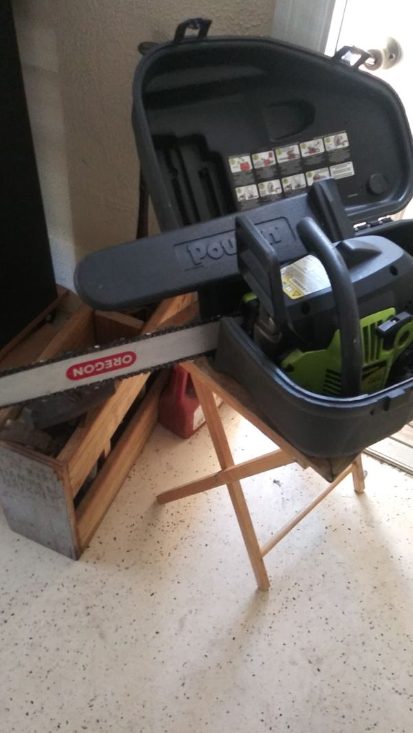 Poulan chainsaw for Sale in Wesley Chapel, FL - OfferUp