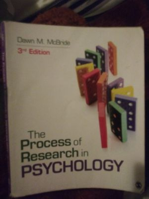 Psychology research methods for Sale in Bakersfield, CA