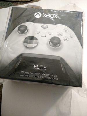 Xbox elite controller white special edition for Sale in Fairfax, VA