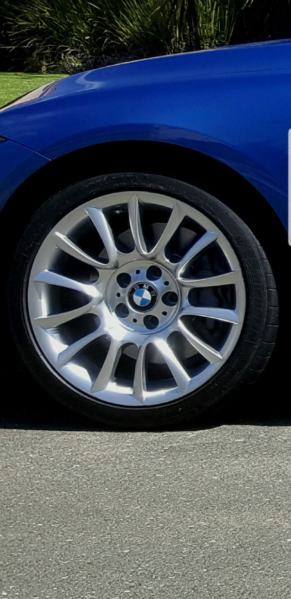 Bmw 18 Oem M Sport Wheels With Tires For Sale In Castro Valley Ca Offerup