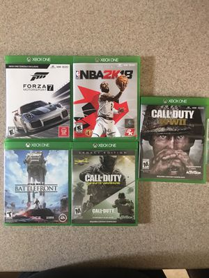 XBox One Games for Sale in Tavares, FL