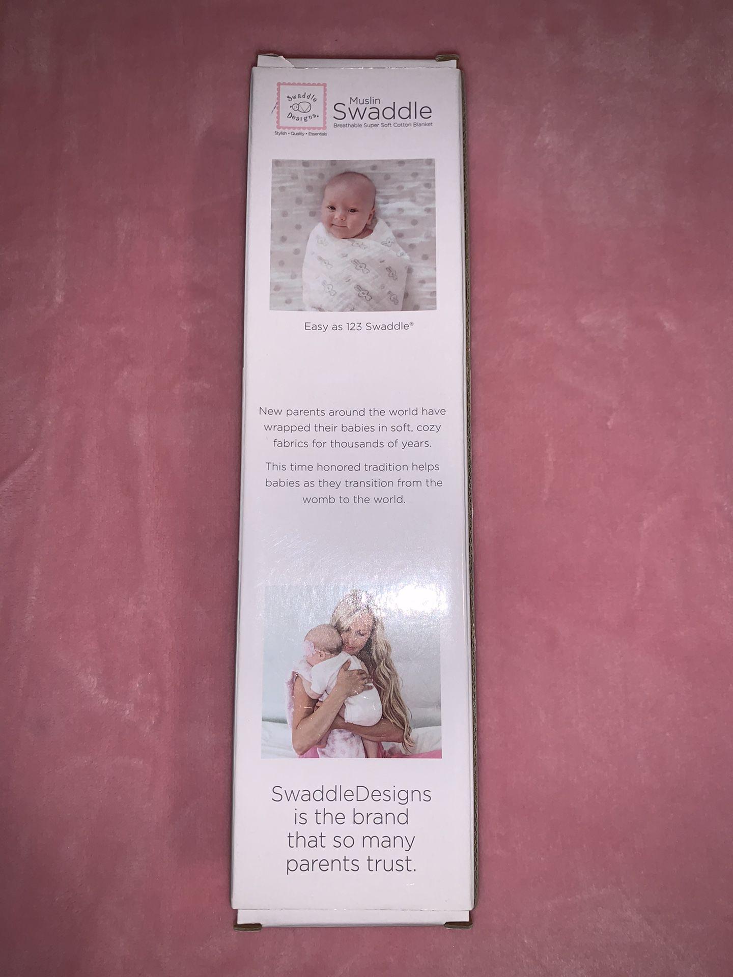 Muslin Swaddle - Baby Blanket