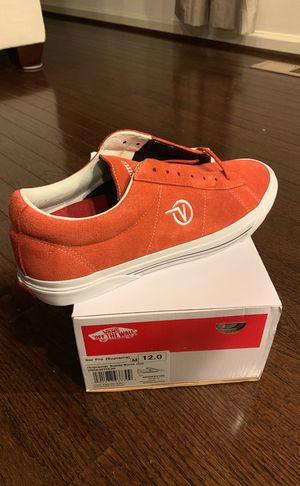 SUPREME VANS SID PRO SIZE 12 for Sale in Silver Spring, MD