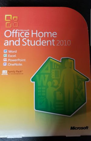 Microsoft home and student 2010 word excel powerpoint for Sale in Bothell, WA