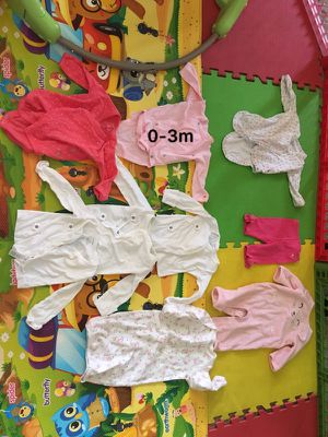 Baby cloth 0-3m for Sale in Tucson, AZ
